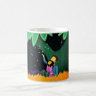 "Bosque mágico - ""usted trae magia "" taza de café"
