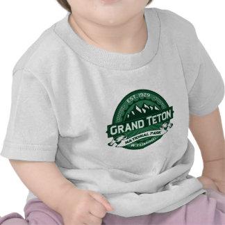 Bosque magnífico de Teton Camisetas