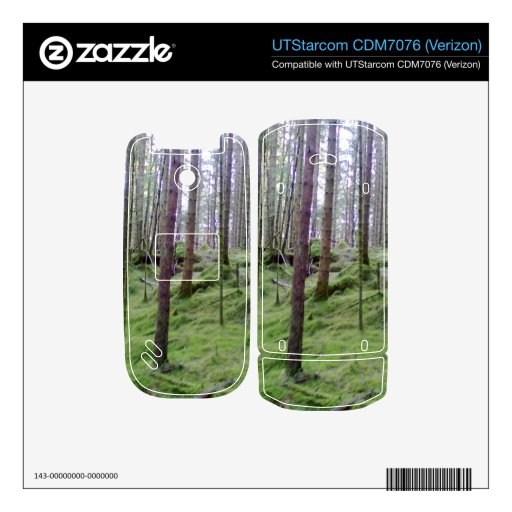 Bosque muchos árboles skins para teléfono UTStarcom