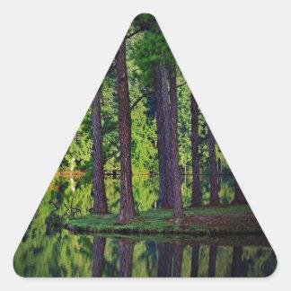 Bosque negro Alemania Pegatina Triangular
