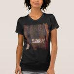 bosque negro camiseta