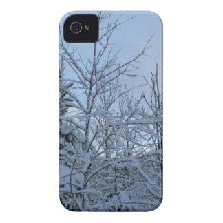 Bosque Nevado iPhone 4 Funda