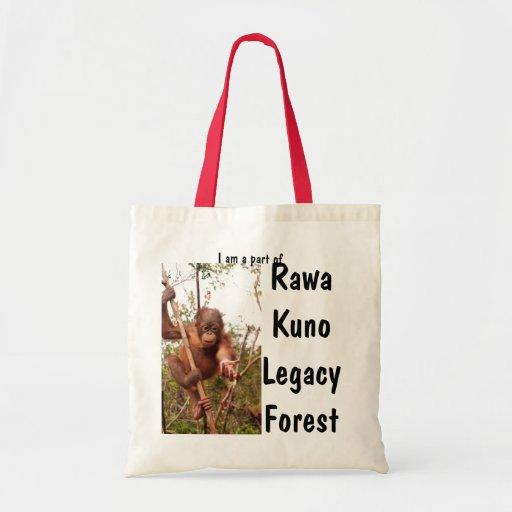 Bosque oficial de la herencia de Rawa Kuno del par Bolsas