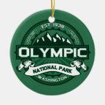 Bosque olímpico adorno de navidad