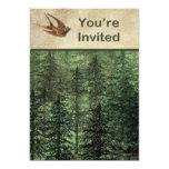 Bosque para la invitación de los árboles
