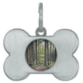Bosque Placa De Mascota