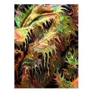 Bosque prehistórico por el rafi talby tarjetas postales