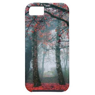 Bosque rojo funda para iPhone SE/5/5s