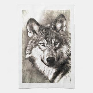 Bosque salvaje de la naturaleza de los animales de toalla