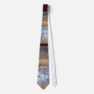 Bosque Sandhill Cranes Tie
