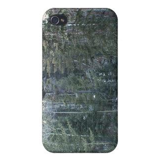 Bosque spruce mezclado enorme iPhone 4 cobertura