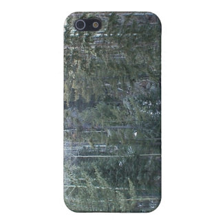 Bosque spruce mezclado enorme iPhone 5 cárcasas