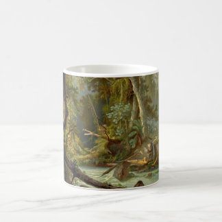 Bosque suramericano 1873 taza clásica
