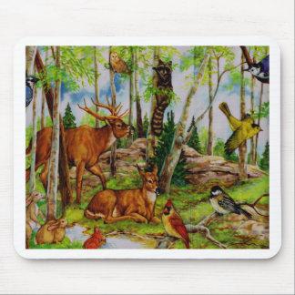 bosque alfombrillas de ratones