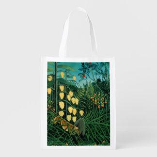 Bosque tropical bolsa de la compra