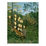 Bosque tropical, Henri Rousseau Tarjetas Postales