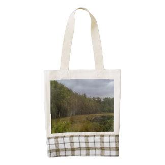 bosque y árbol bolsa tote zazzle HEART