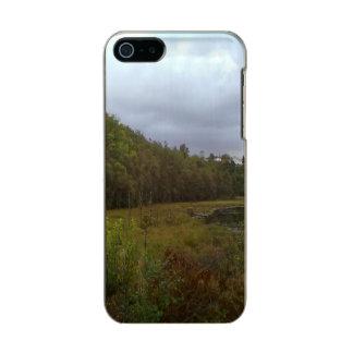 bosque y árbol funda para iPhone 5 incipio feather shine
