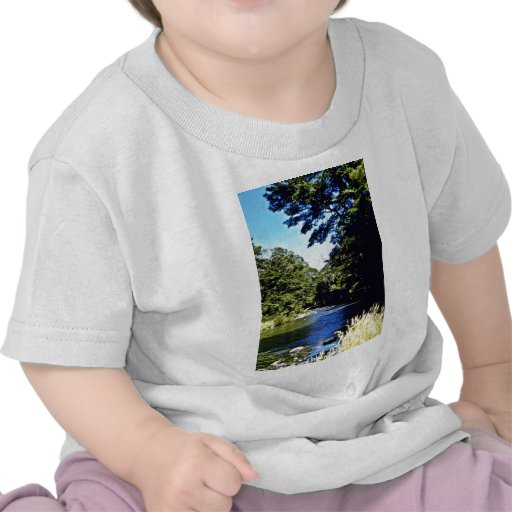 Bosque y río, PA nacional de aspiración de la haya Camiseta