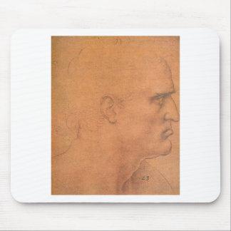 Bosqueje para la última cena de Leonardo da Vinci Tapete De Ratones