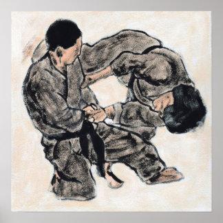 Bosquejo 28 del Aikido Poster