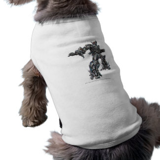 Bosquejo 2 de la onda de choque camisetas mascota