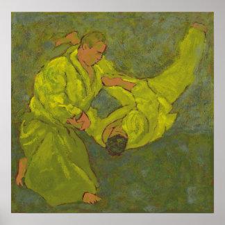 Bosquejo 31 del Aikido Impresiones