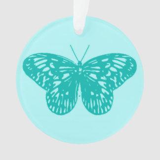 Bosquejo, aguamarina y turquesa de la mariposa