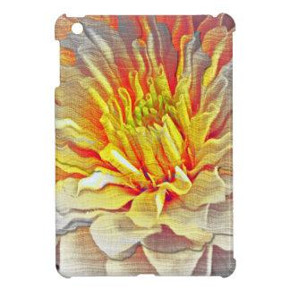 Bosquejo amarillo del lápiz de la flor de la dalia