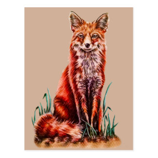 Bosquejo animal del lápiz del arte del dibujo del tarjeta postal