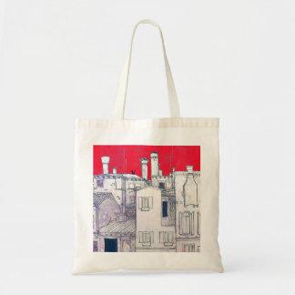 bosquejo arquitectónico bolsa tela barata