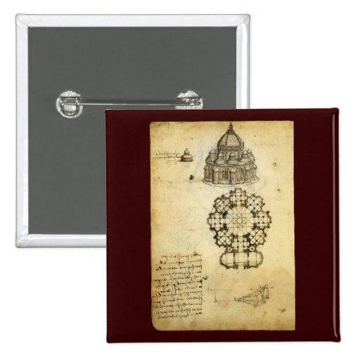 Bosquejo arquitectónico de Leonardo da Vinci