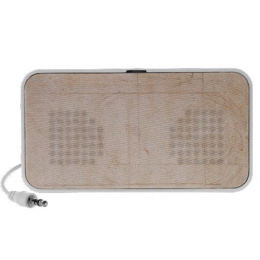 Bosquejo arquitectónico iPod altavoces