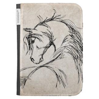 Bosquejo artsy de la cabeza de caballo