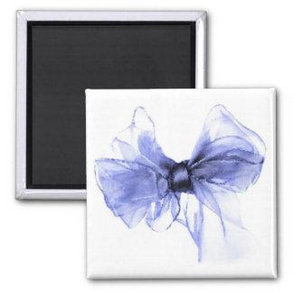 Bosquejo azul del dibujo del arco imanes para frigoríficos