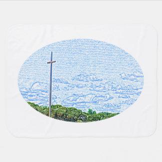 bosquejo cruzado St Augustine la Florida del Mantita Para Bebé