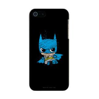 Bosquejo de Chibi Batman Carcasa De Iphone 5 Incipio Feather Shine