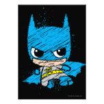 Bosquejo de Chibi Batman Comunicados Personalizados
