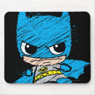 Bosquejo de Chibi Batman Mouse Pads