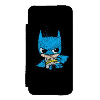 Bosquejo de Chibi Batman Funda Cartera Para iPhone 5 Watson