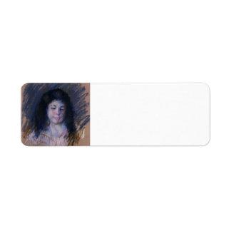 Bosquejo de Francois de Mary Cassatt Etiqueta De Remite