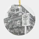 Bosquejo de la casa de Parker - orilla del jersey Ornaments Para Arbol De Navidad