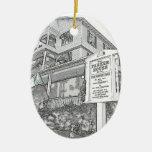 Bosquejo de la casa de Parker - orilla del jersey Adornos De Navidad