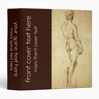 Bosquejo de la estatua de David de Miguel Ángel