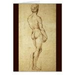 Bosquejo de la estatua de David de Miguel Ángel Tarjeton