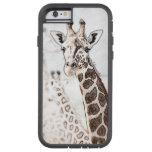 Bosquejo de la jirafa funda de iPhone 6 tough xtreme
