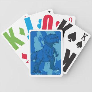 Bosquejo de la marimacho barajas de cartas