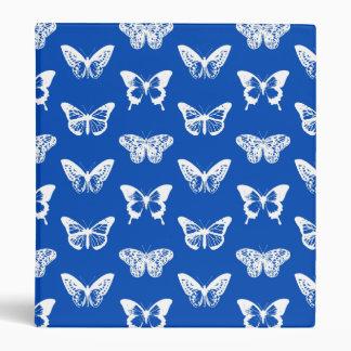 """Bosquejo de la mariposa, azul de cobalto y blanco carpeta 1"""""""