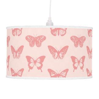 Bosquejo de la mariposa, rosa del coral