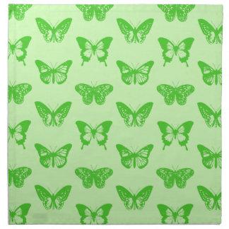 Bosquejo de la mariposa verde lima